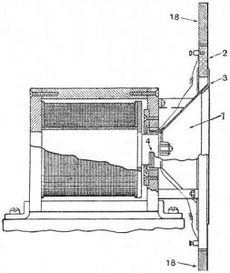 Rice-Kellogg-Lautsprecher, Schema
