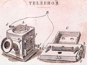 Telefon von Reis 1863