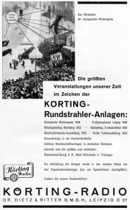 Körting-Rundstrahler 1936