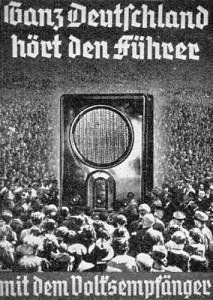 Volksempfänger-Plakat