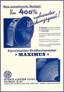 Maximus-Großlautsprecher