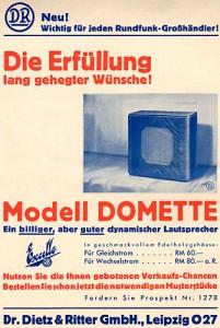 Lautsprecher Domette