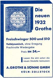 Grothe Holzlautsprecher