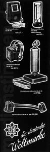 Telefunken-Werbung Elektroakustik 1935, Teil 2