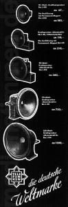 Telefunken-Werbung Elektroakustik 1935, Teil 4